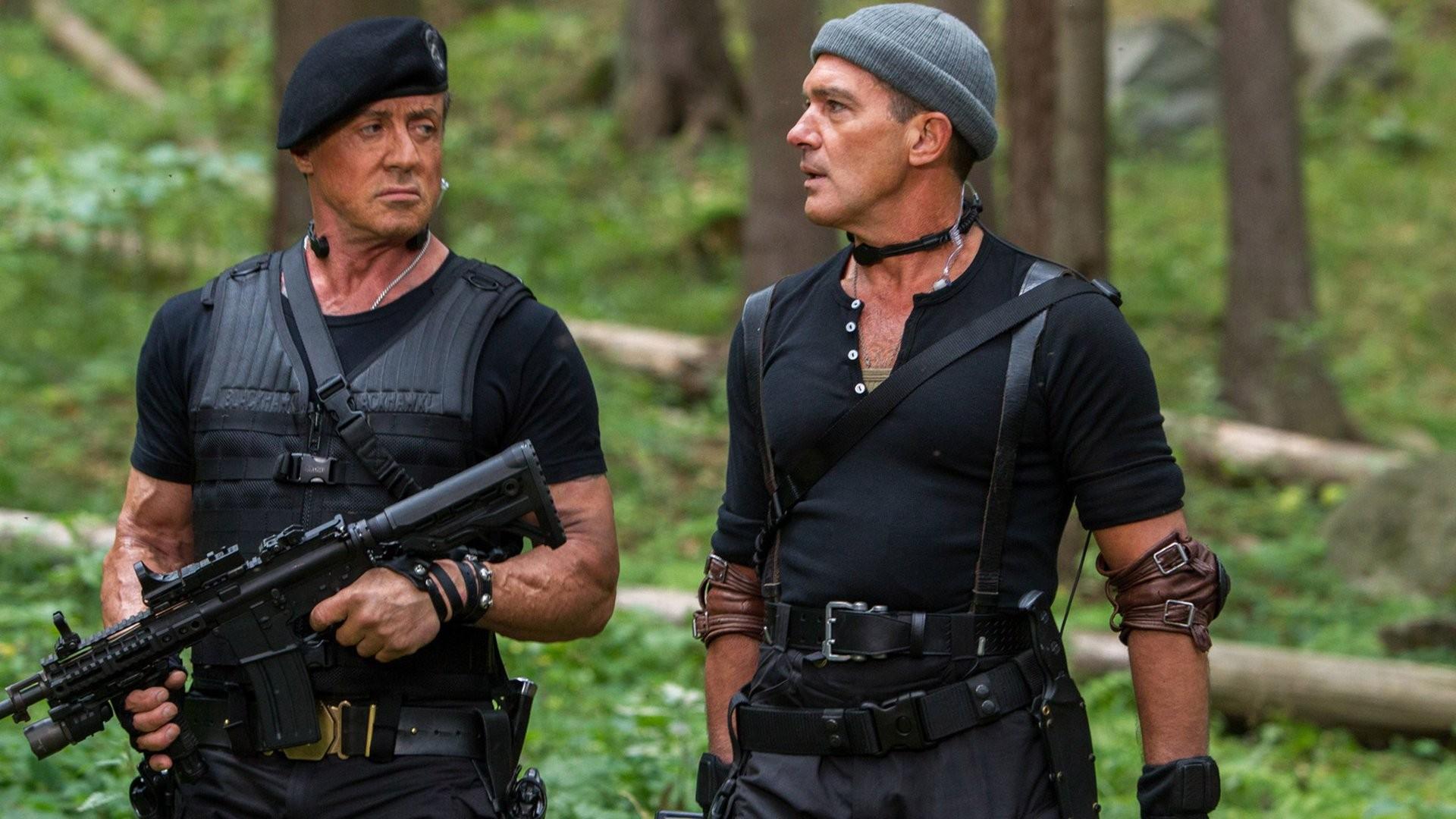 Sylvester Stallone In Expendables 2 Wallpapers: Los Mercenarios 3 Fondo De Pantalla HD
