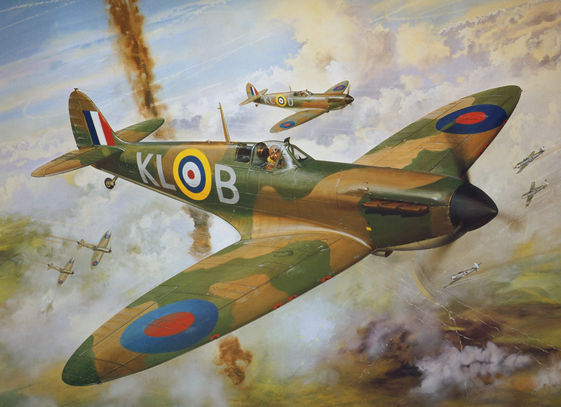 Supermarine Spitfire Full HD Wallpaper and Background ...