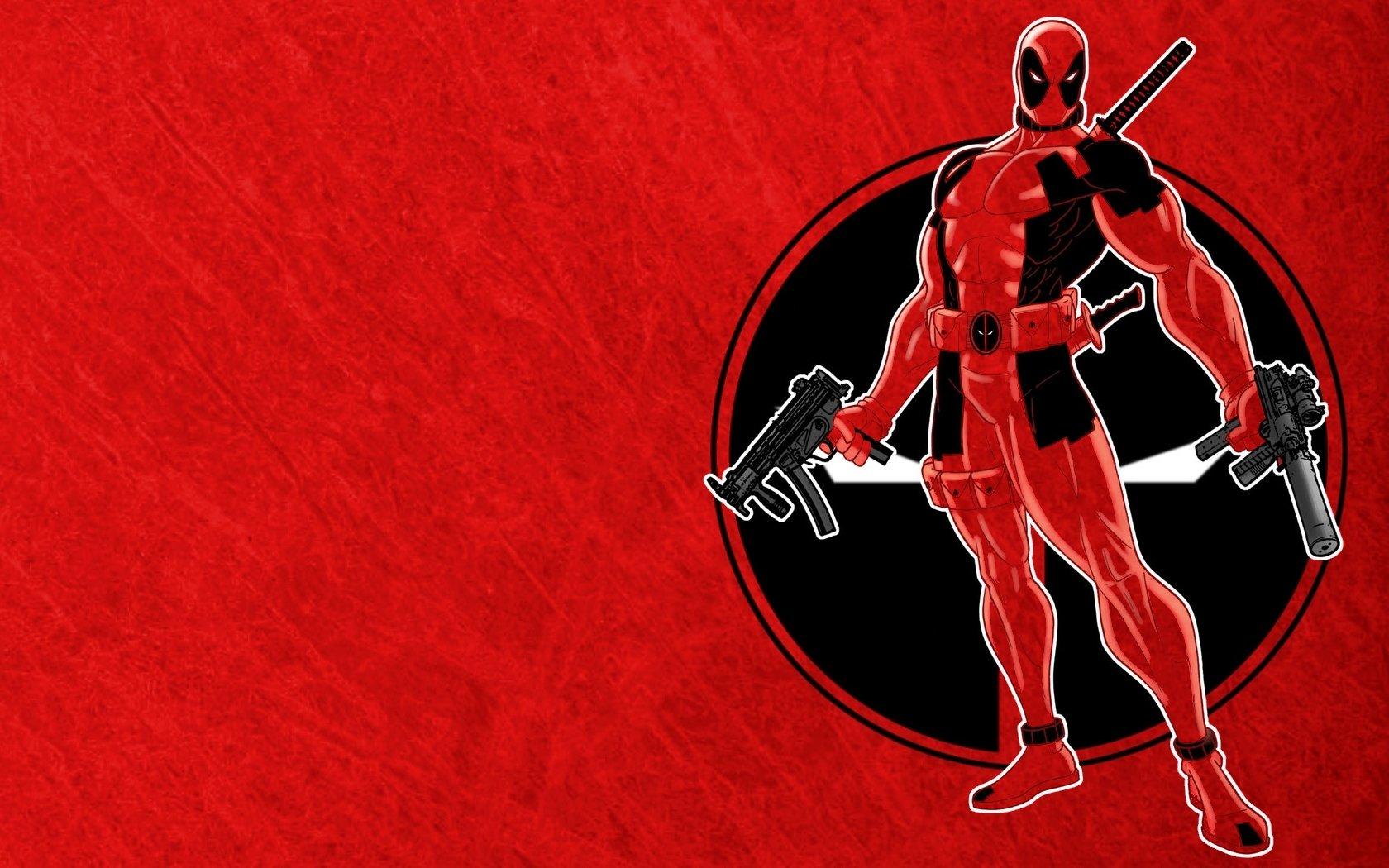 Comics - Deadpool  Red Wallpaper