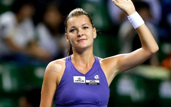 Sports Agnieszka Radwańska Tennis Polish HD Wallpaper | Background Image