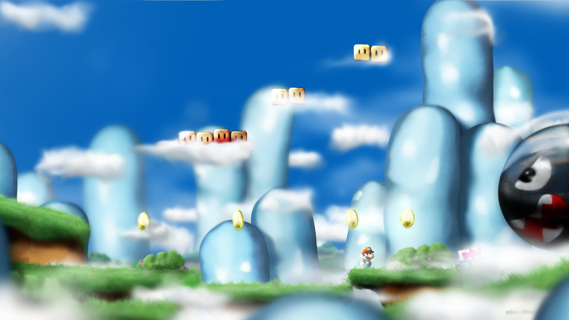 Video Game - Mario  Wallpaper