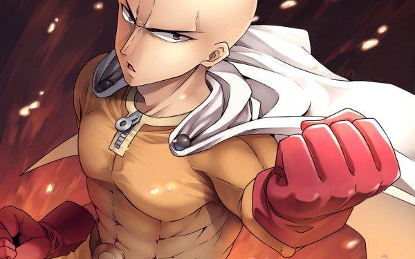 Anime One-Punch Man Saitama HD Wallpaper | Background Image