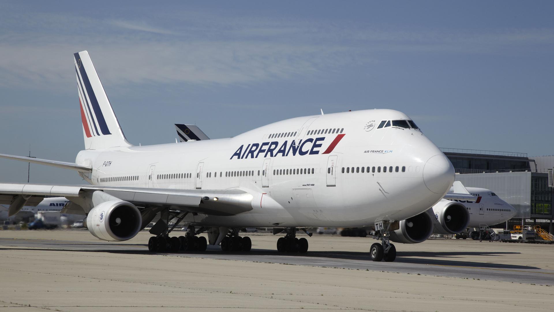 Air France KLM Boeing 747 400 Fond d'écran HD | Arrière Plan