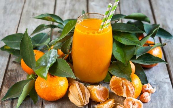 Food Mandarin Fruits Fruit Juice HD Wallpaper   Background Image