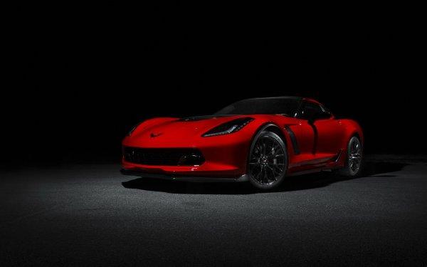 Vehicles Chevrolet Corvette Chevrolet Corvette Sport Car Red Car Car HD Wallpaper | Background Image