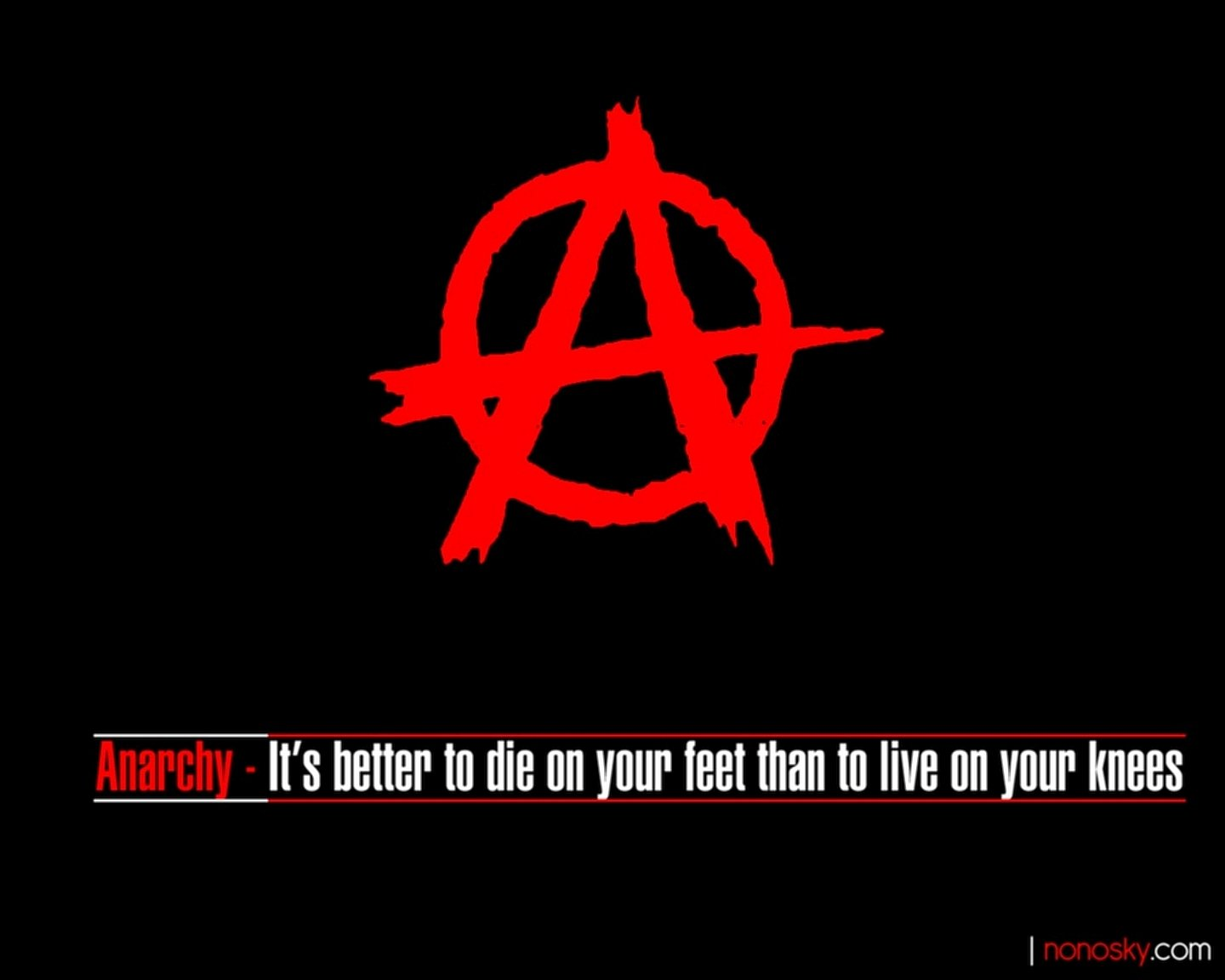 anarchy dating site Anarchism is a political philosophy that advocates self-governed themselves derived respectively from the greek ἀναρχία, ie anarchy (from.