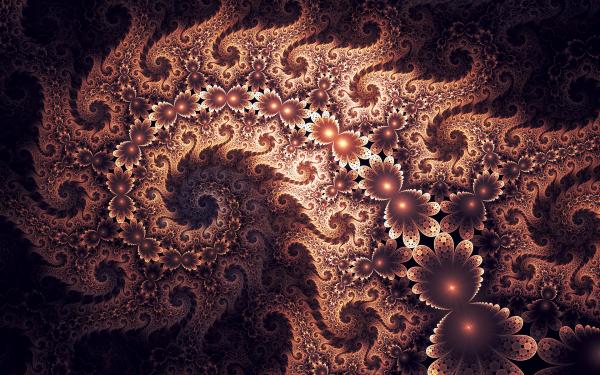 Abstract Fractal Digital Art Artistic Pink HD Wallpaper | Background Image