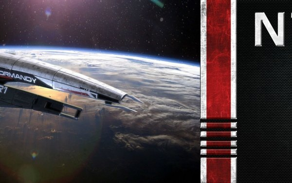 Video Game Mass Effect Normandy SR-1 Sci Fi Spaceship HD Wallpaper | Background Image
