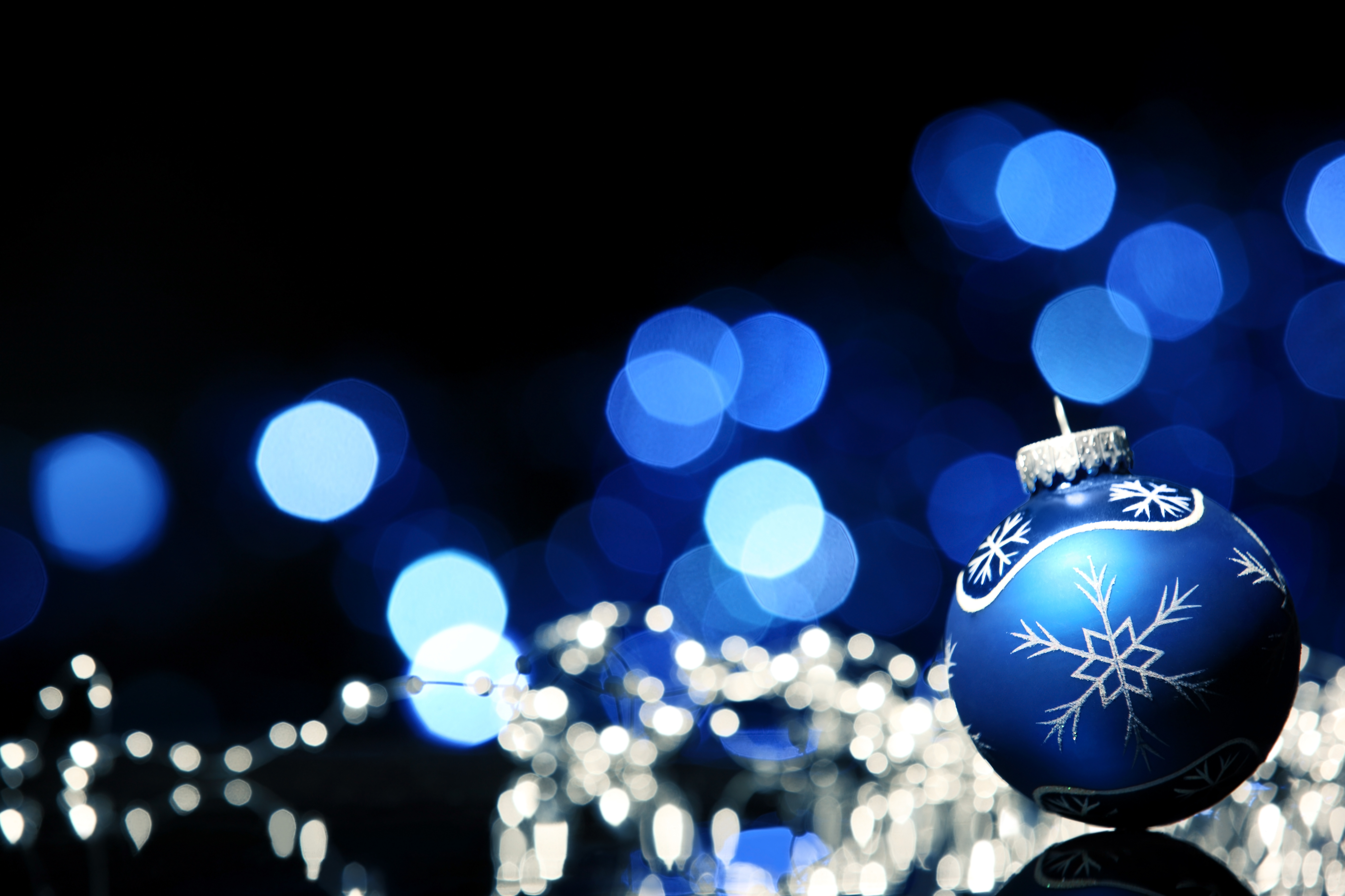 wallpapers id668466 - Christmas Blue