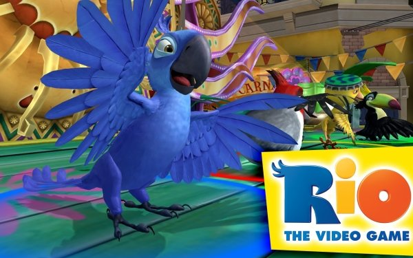 Video Game Rio Blue HD Wallpaper | Background Image