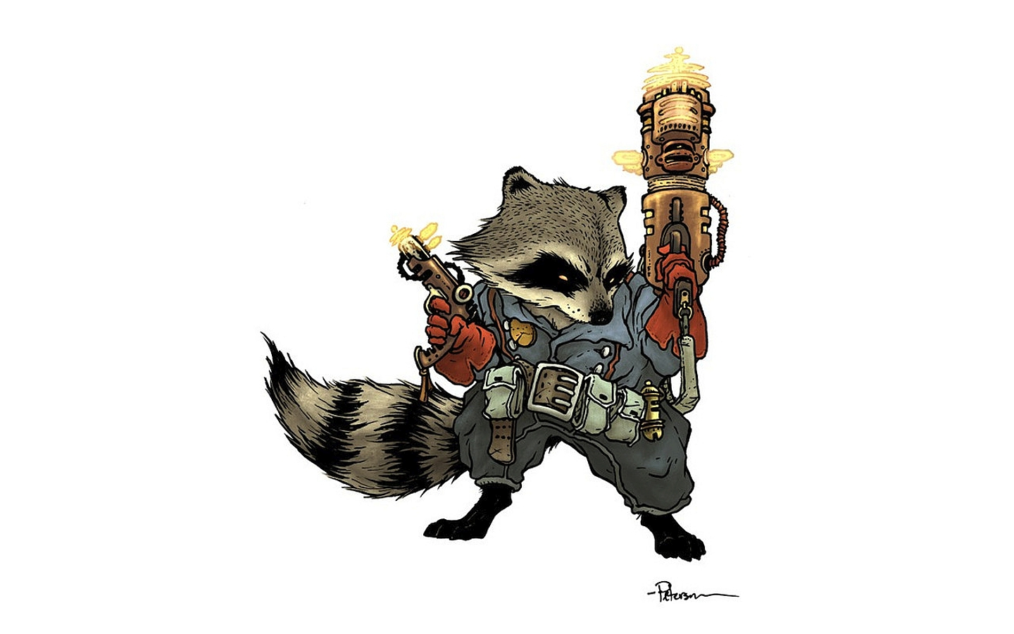 Rocket Raccoon Wallpaper And Background Image
