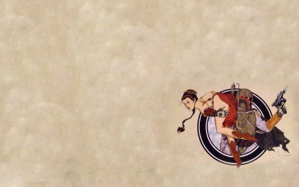 Sci Fi Star Wars Boba Fett Princess Leia HD Wallpaper | Background Image