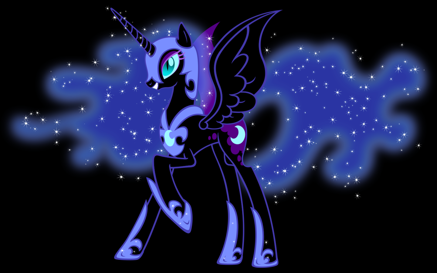 Afbeeldingsresultaat voor nightmare moon background