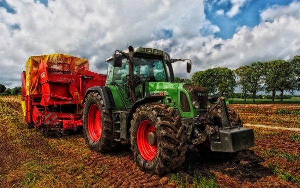 Vehículos Fendt Tractor Tractor Granja HDR Fondo de pantalla HD | Fondo de Escritorio