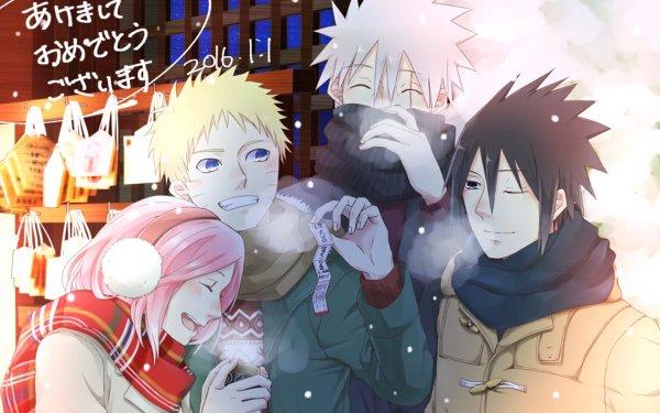 Anime Naruto Naruto Uzumaki Sasuke Uchiha Sakura Haruno Itachi Uchiha HD Wallpaper | Background Image