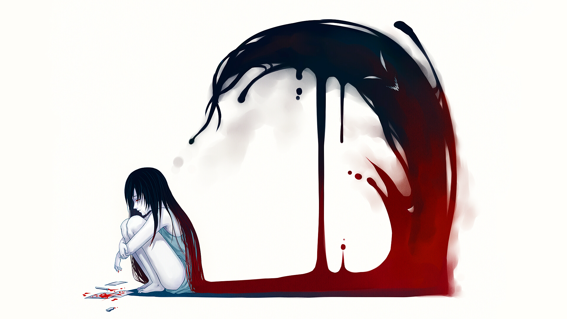 Love Sad Blood Wallpaper : Anime Art Full HD Wallpaper and Background 1920x1080 ID:676603
