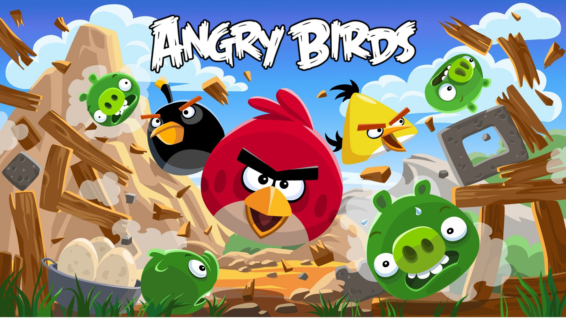 84 angry birds hd wallpapers | background images - wallpaper abyss