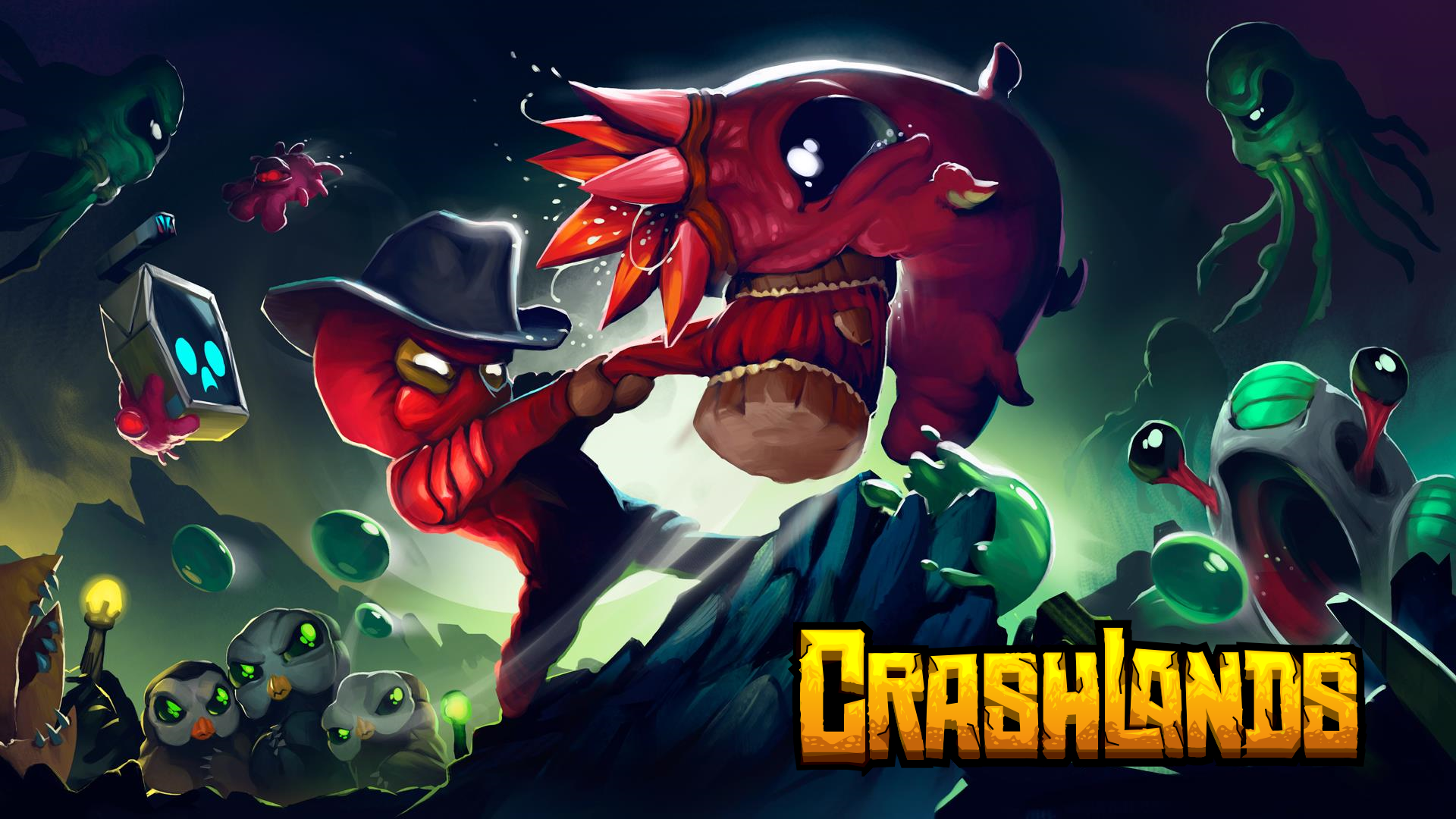 3 Crashlands HD Wallpapers | Background Images - Wallpaper Abyss