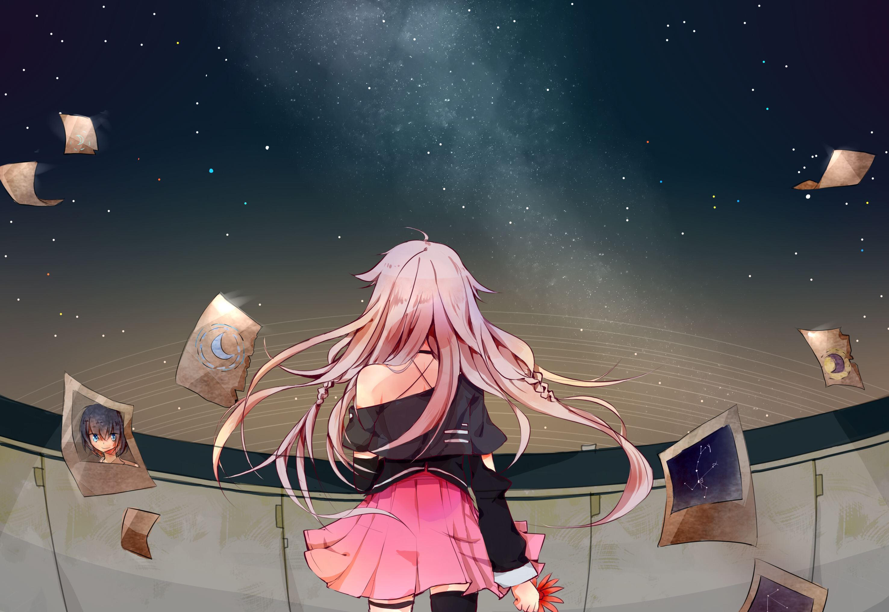 anime, Anime Girls, Vocaloid, IA (Vocaloid) Wallpapers HD