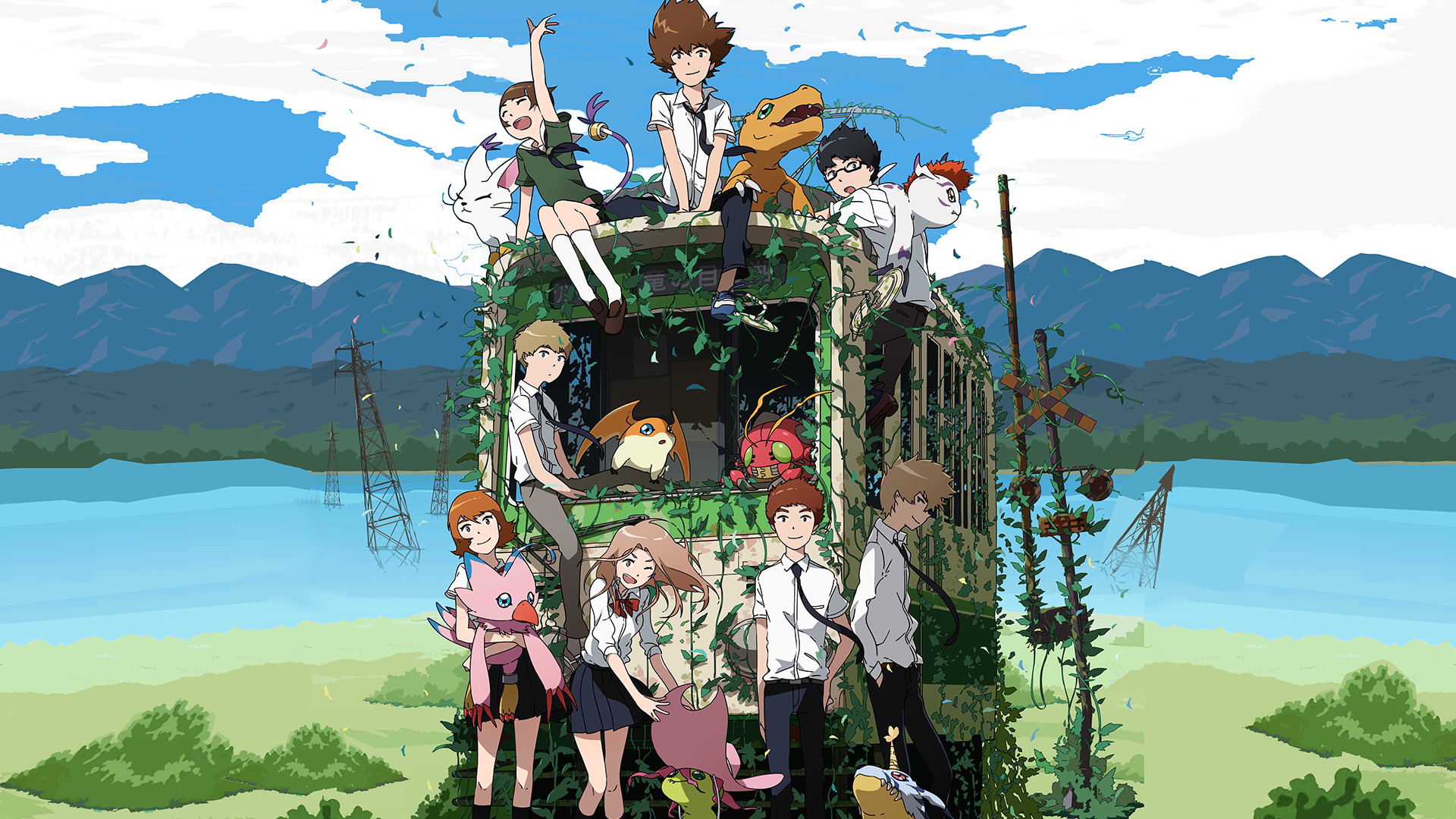 Digimon Adventure Tri Full HD Wallpaper and Background