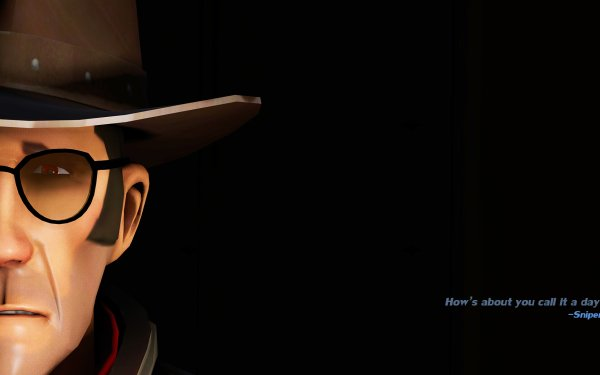 Video Game Team Fortress 2 Team Fortress Dark Sniper HD Wallpaper | Background Image