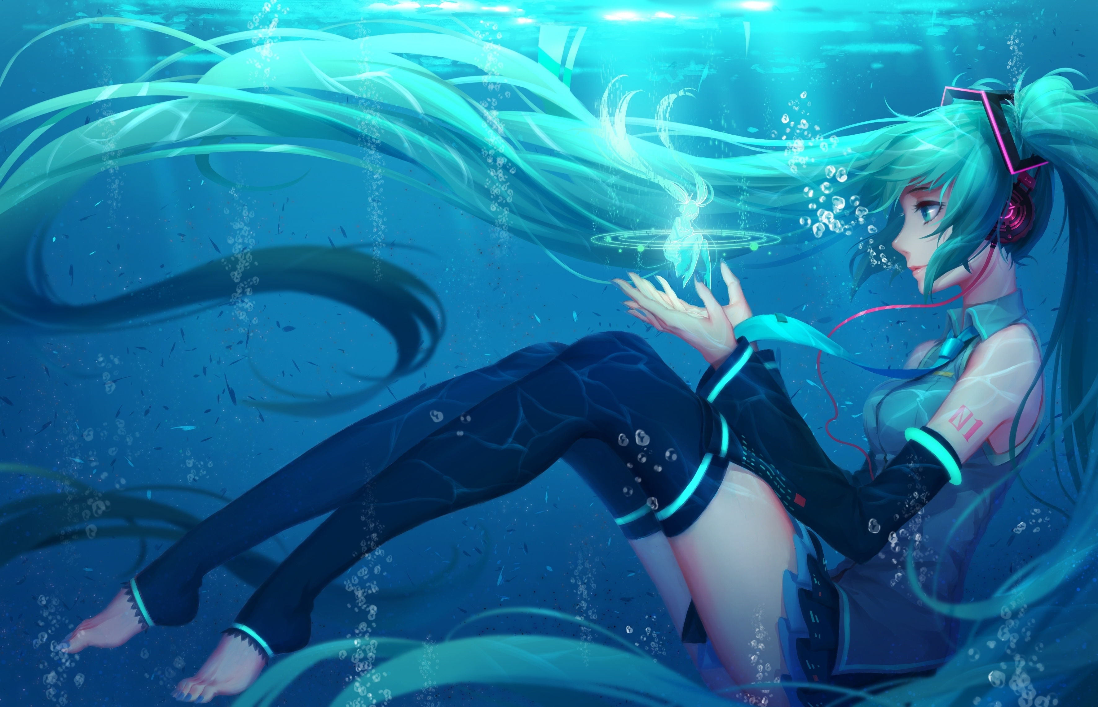 Hatsune miku full hd fondo de pantalla and fondo de for Fondo de pantalla 4k anime