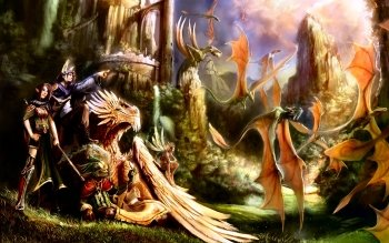 Fantasy - Dragon Wallpapers and Backgrounds ID : 6814