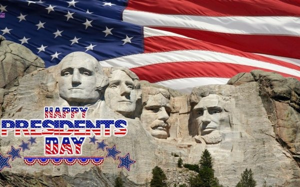 Holiday Presidents' Day Mount Rushmore HD Wallpaper | Background Image