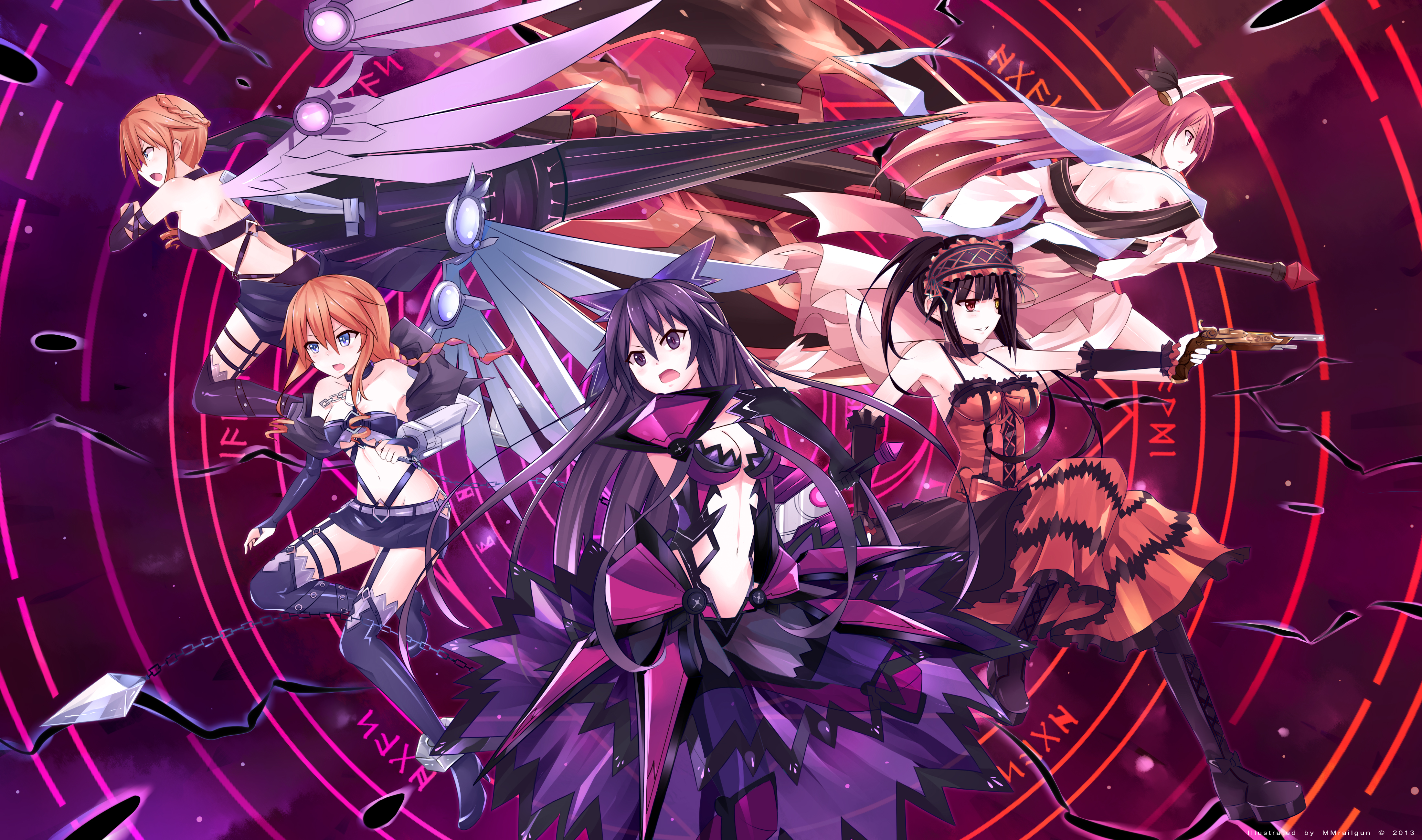 Date A Live 4k Ultra HD Wallpaper | Background Image | 4400x2600 | ID:682321 - Wallpaper Abyss