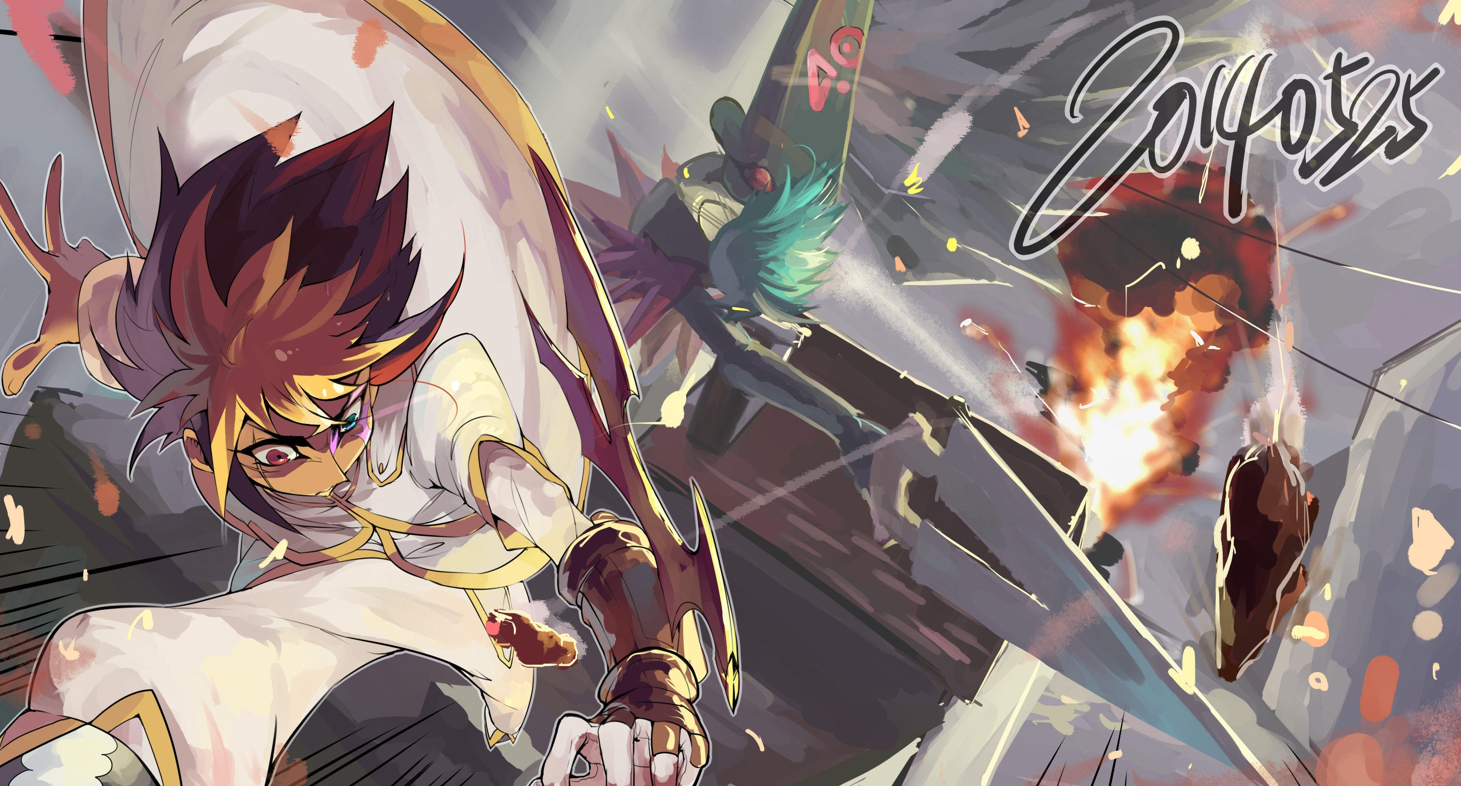 yugioh zexal full hd wallpaper and background image