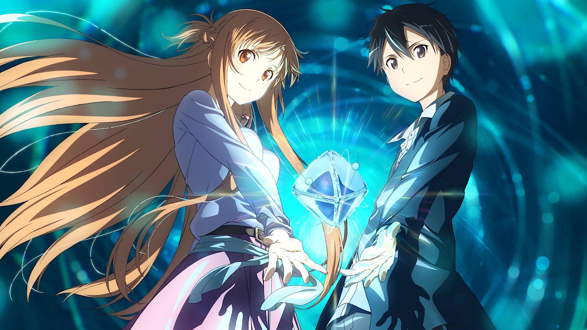 Anime - Sword Art Online Movie: Ordinal Scale  Kazuto Kirigaya Asuna Yuuki Sword Art Online Ordinal Scale Wallpaper