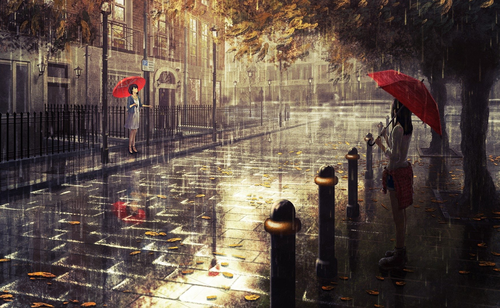 Hd wallpaper rain - Hd Wallpaper Background Id 682961