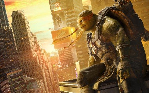 Movie Teenage Mutant Ninja Turtles: Out of the Shadows Teenage Mutant Ninja Turtles Michelangelo HD Wallpaper | Background Image