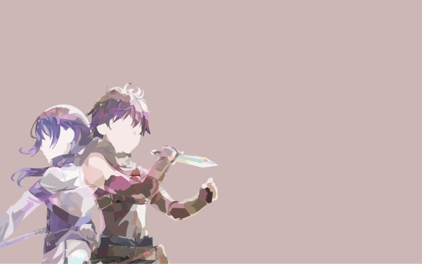 Anime Grimgar of Fantasy and Ash Haruhiro Mary HD Wallpaper | Background Image
