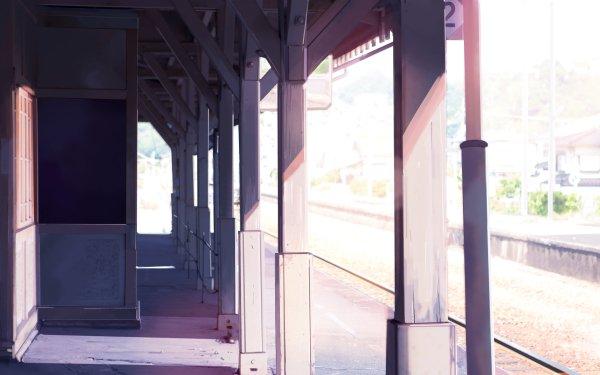 Anime Original Sunbeam HD Wallpaper   Background Image