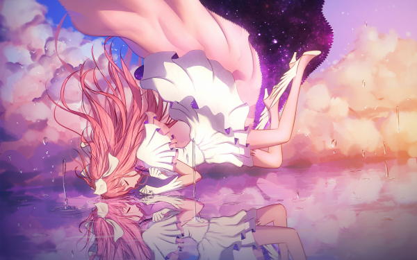 Anime Puella Magi Madoka Magica Madoka Kaname Ultimate Madoka HD Wallpaper | Background Image