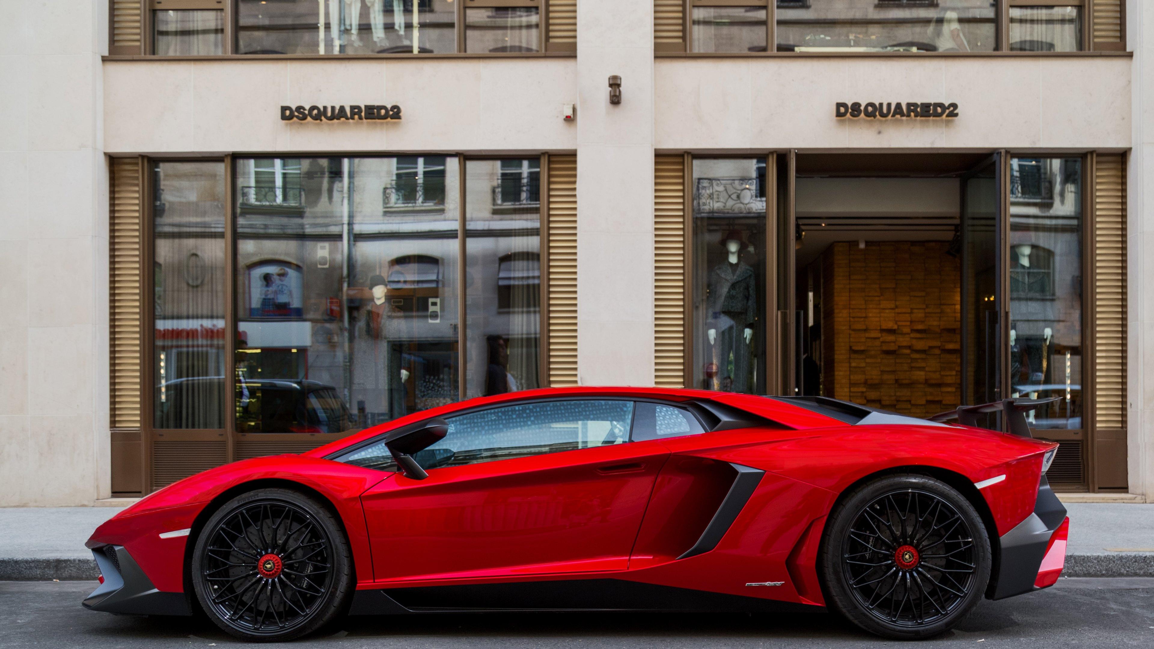 Lamborghini Aventador Green 4k Hd Cars 4k Wallpapers: Lamborghini Aventador 4k Ultra HD Wallpaper