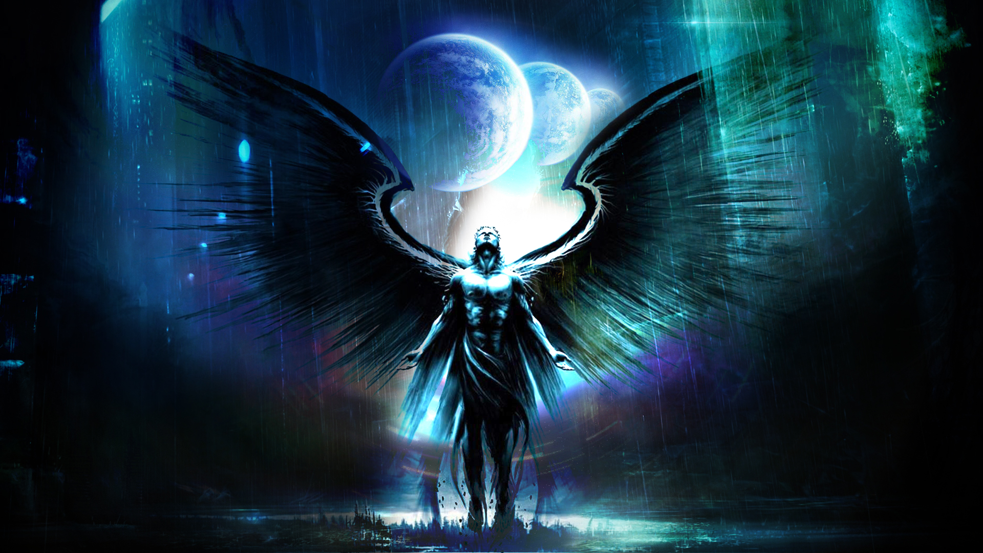 Mystical Angel Full HD Wallpaper and Background Image ...