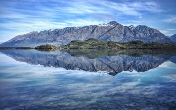 Earth Reflection Scenery HD Wallpaper | Background Image