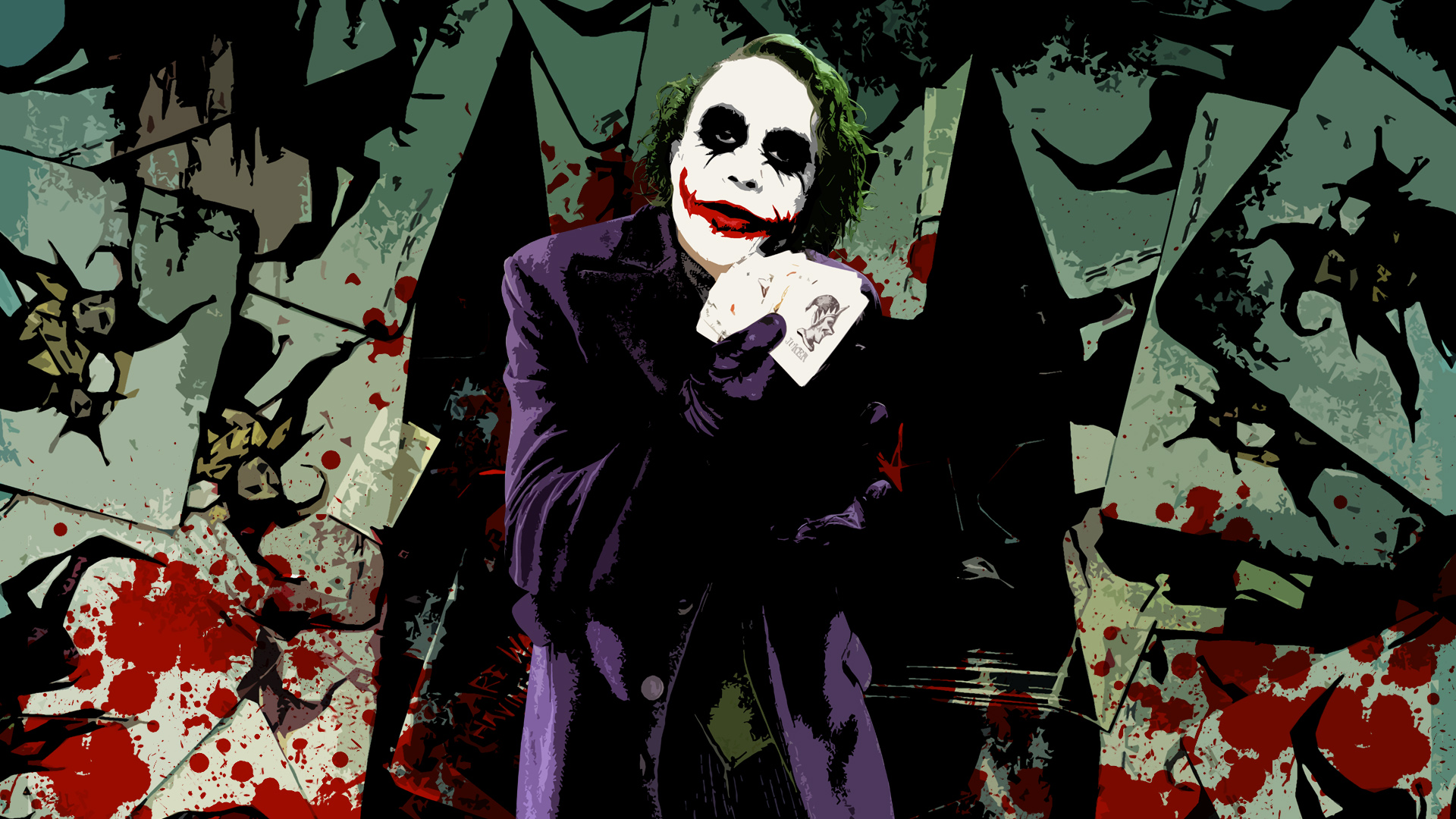 Movie - The Dark Knight  Joker Wallpaper
