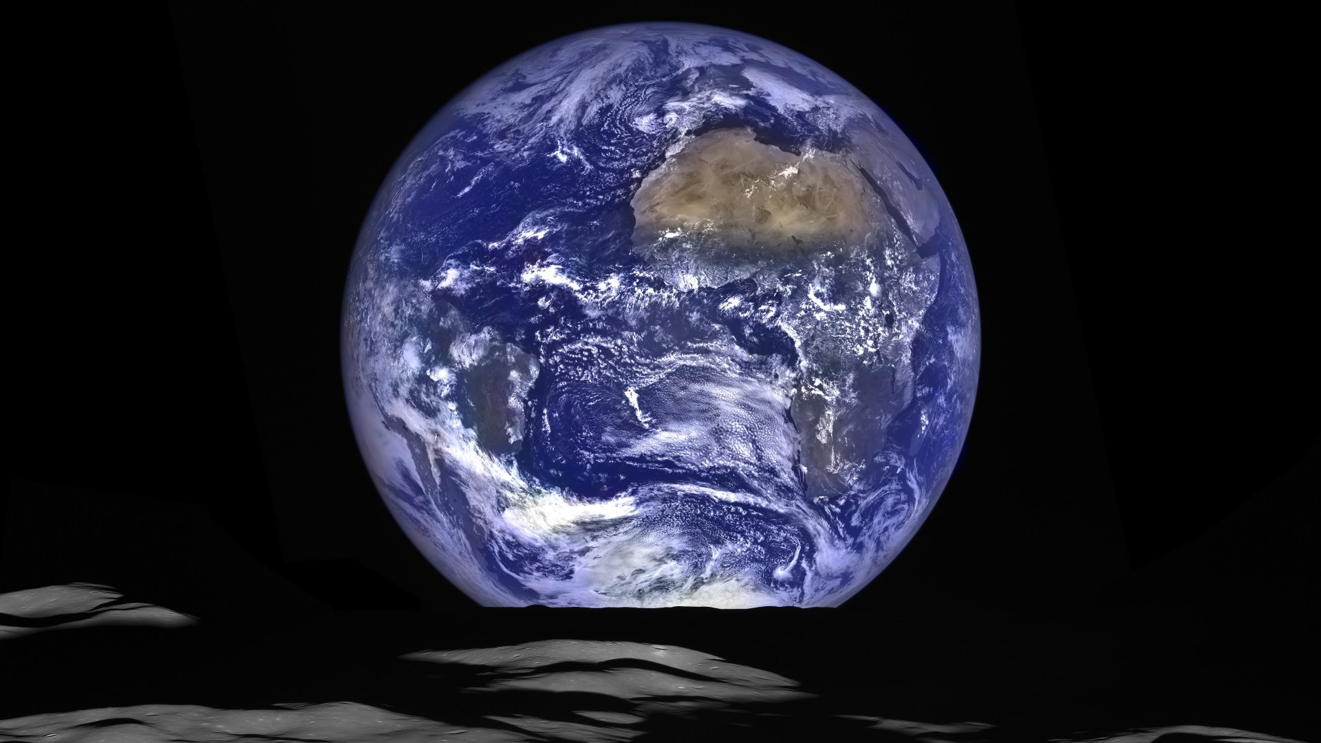Earth - From Space  Planet Earth Africa Wallpaper