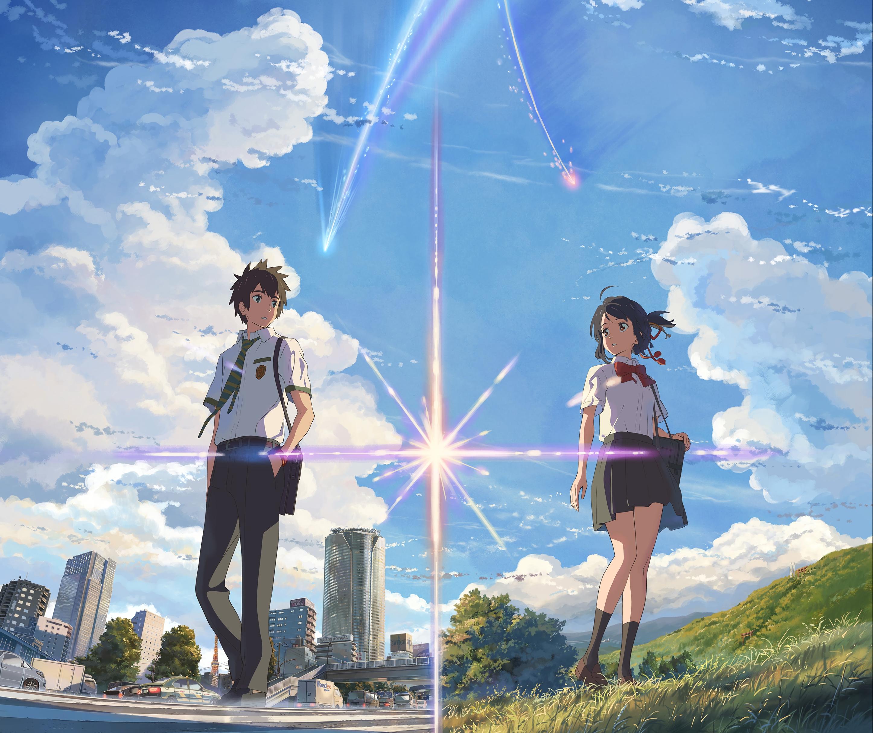 800+ Wallpaper Anime Couple Untuk 2 Hp HD Paling Baru