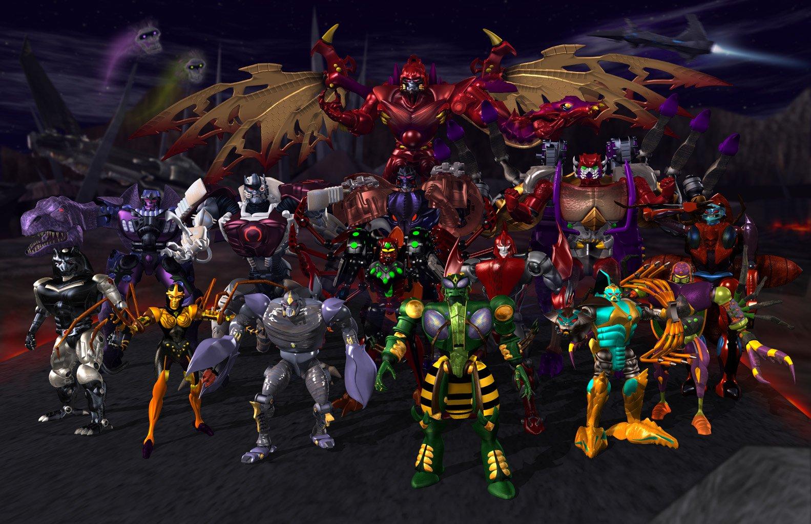 Tekenfilm - Beast Wars: Transformers  Beast Wars Transformers Wallpaper