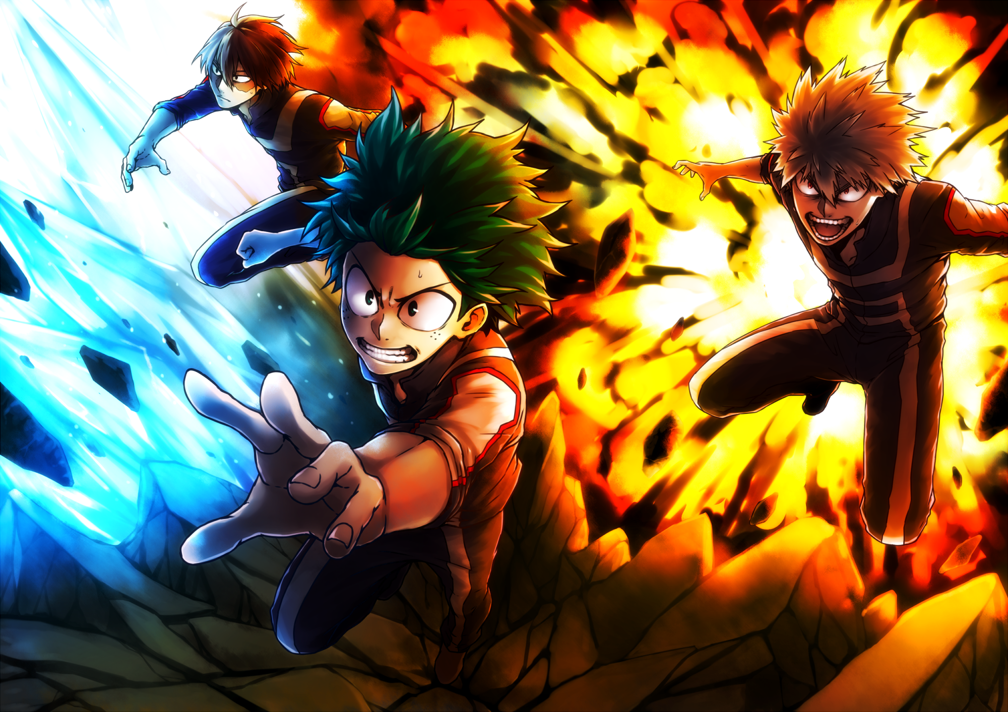 585 Katsuki Bakugou Hd Wallpapers Background Images Wallpaper