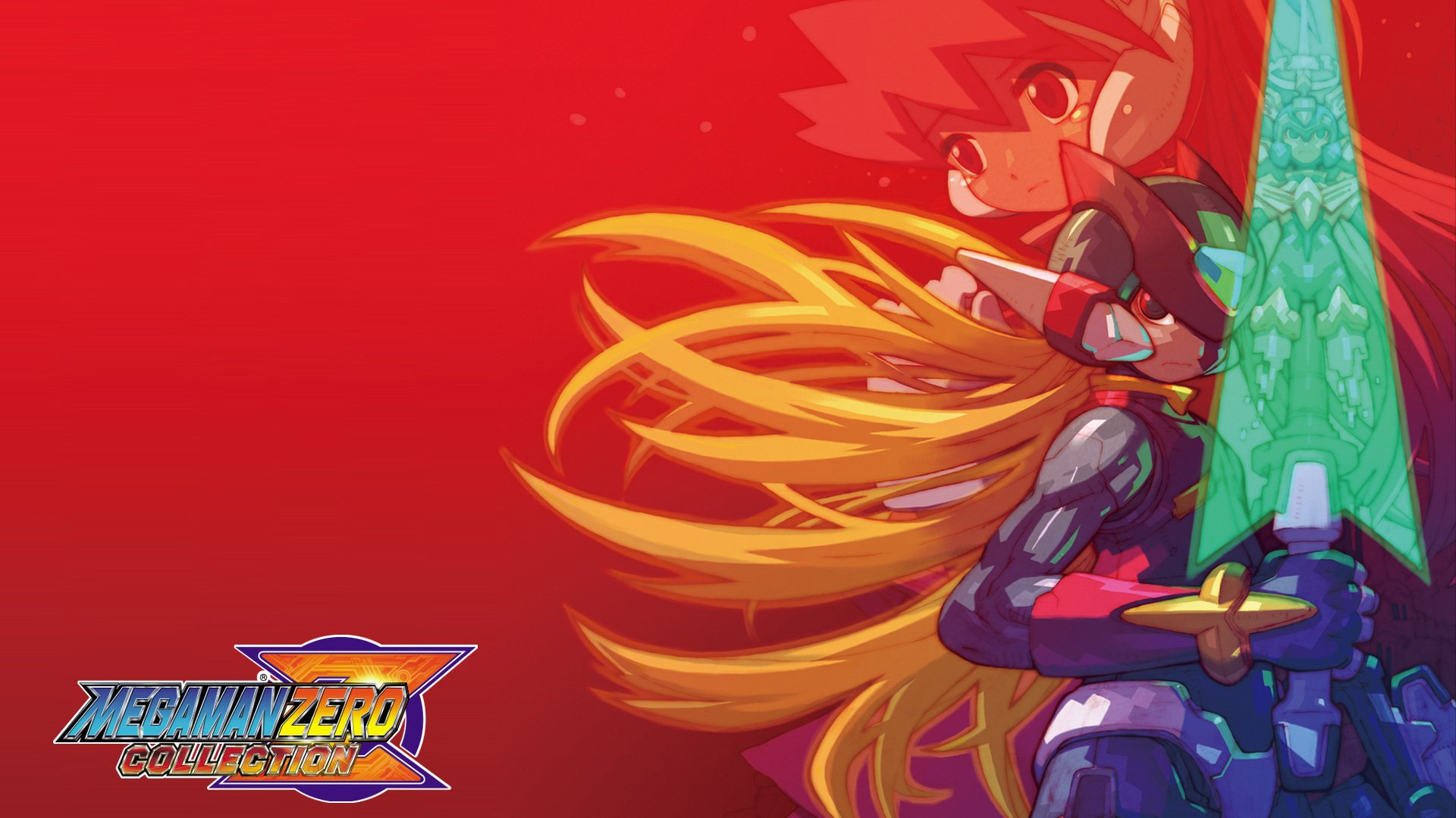 Mega Man Zero Collection Hd Wallpaper Background Image