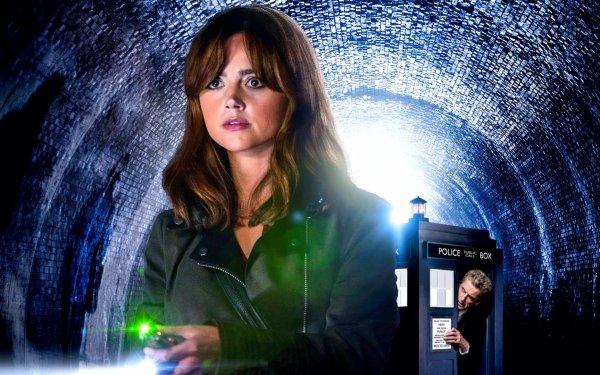 TV Show Doctor Who Clara Oswald Tardis Jenna Coleman Peter Capaldi HD Wallpaper | Background Image