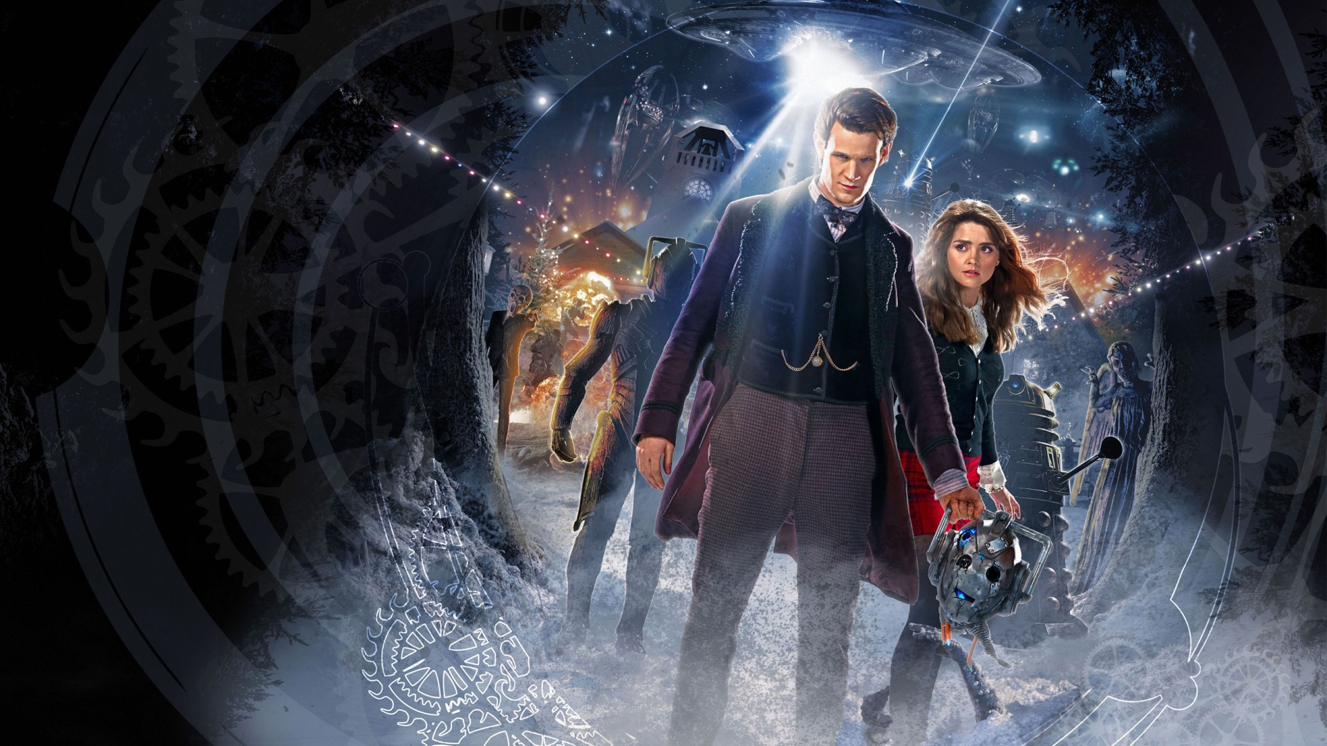 Doctor Who Hd Wallpaper Background Image 1920x1080 Id 690007