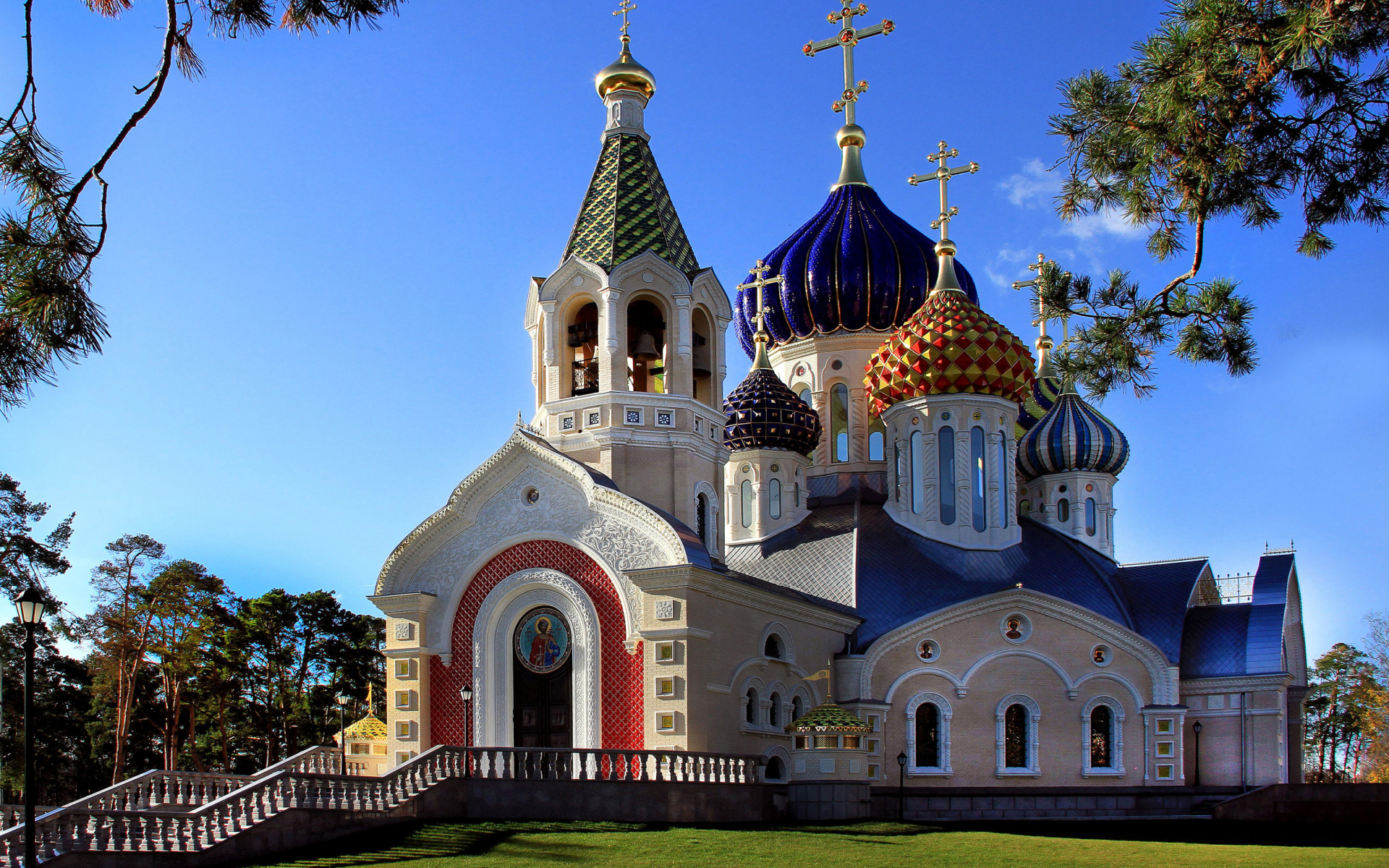 Church In Russia Hd Wallpaper Background Image 1920x1200 Id