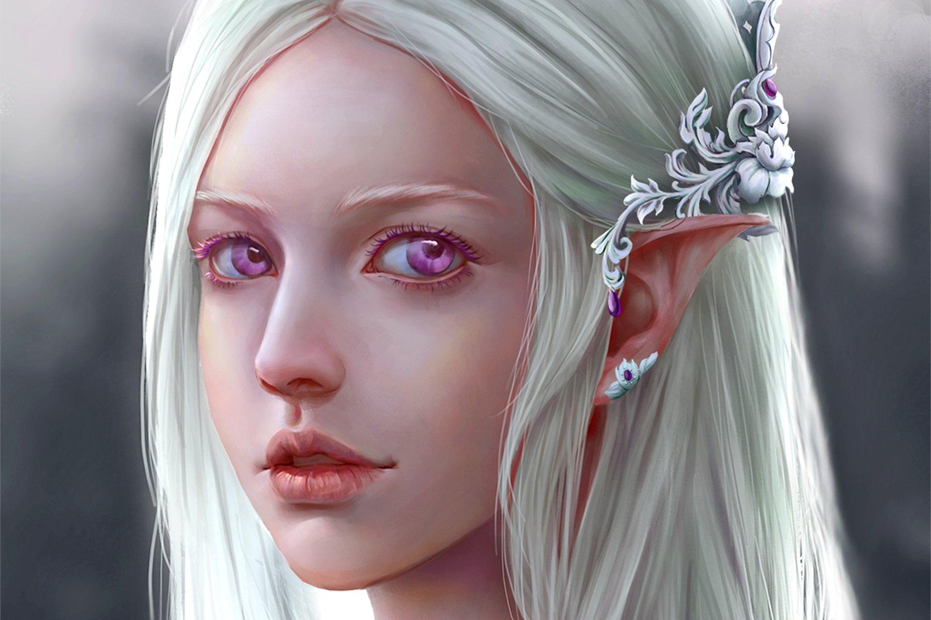 White elf women naked photo