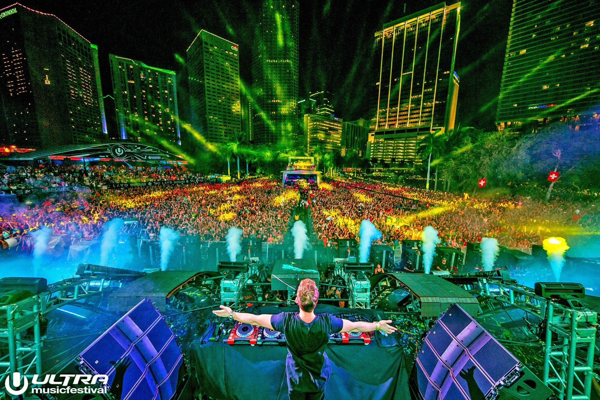 Download Ultra Music Festival Wallpaper Hd Gallery: Hardwell @ Ultra Music Festival 2016 Full HD Wallpaper And